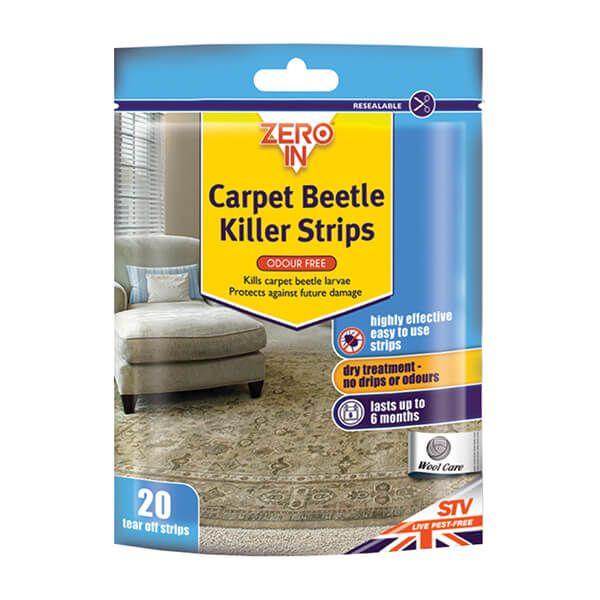 Zero In Carpet Beetle & Moth Killer Strips