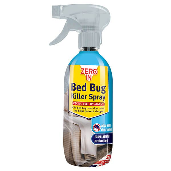 Zero In Bed Bug & Dust Mite Killer Spray 500ml