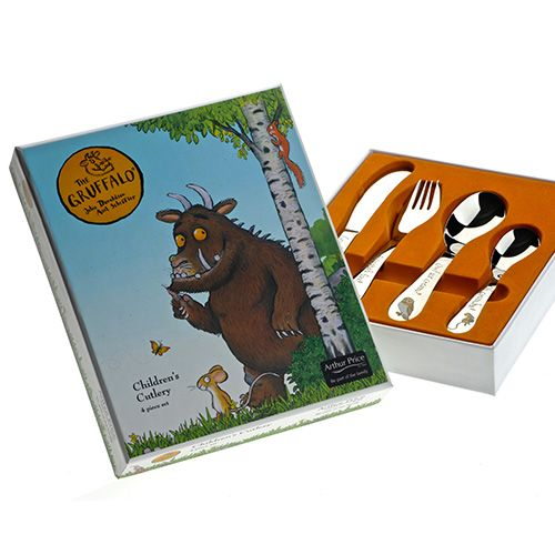 Arthur Price The Gruffalo 4 Piece Childrens Cutlery Set
