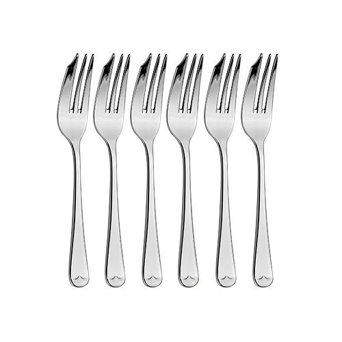 Arthur Price Classic Old English Set of 6 Pastry Forks