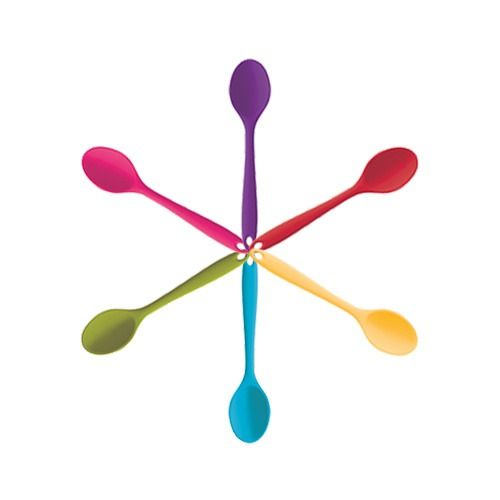 Colourworks Silicone 20cm Mini Deep Spoon