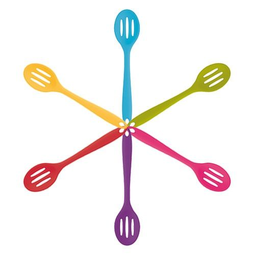 Colourworks Silicone 27cm Slotted Spoon