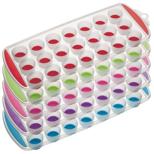 Colourworks Flexible Pop Out Twenty-one Hole Ice Cube Tray