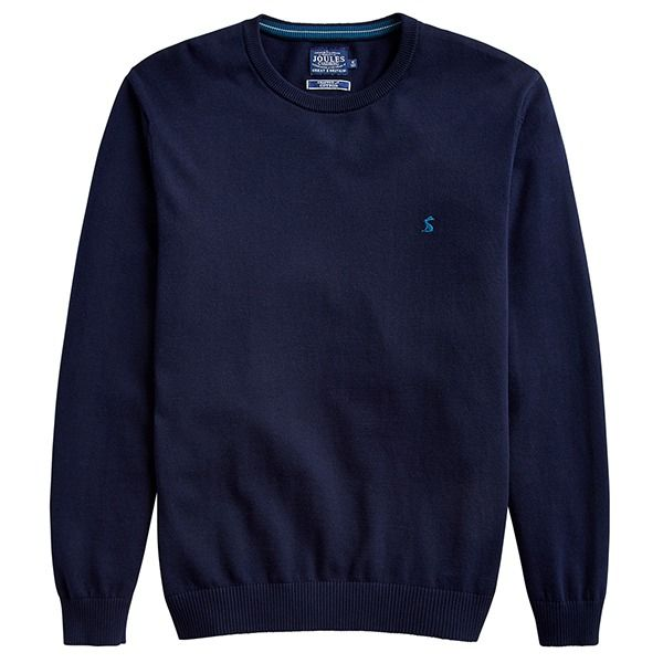 Joules Jarvis Crew Neck Jumper French Navy