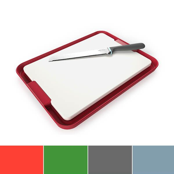 Venn Dual Purpose Non-Slip Chopping Board & Tray Set
