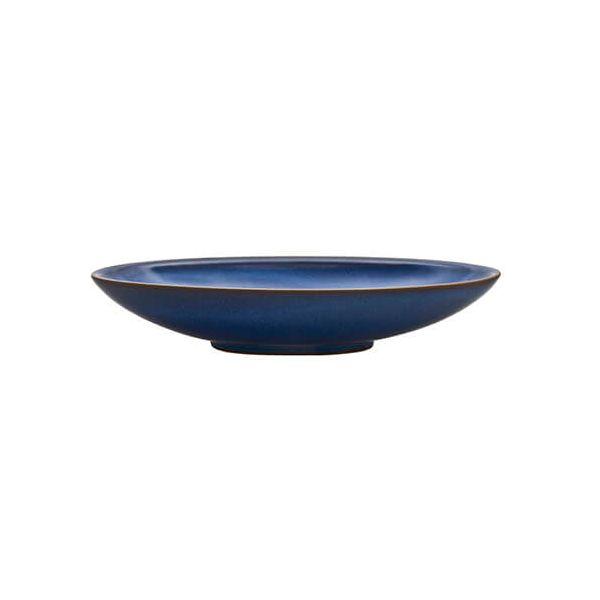 Denby Imperial Blue Medium Oval Serving Dish