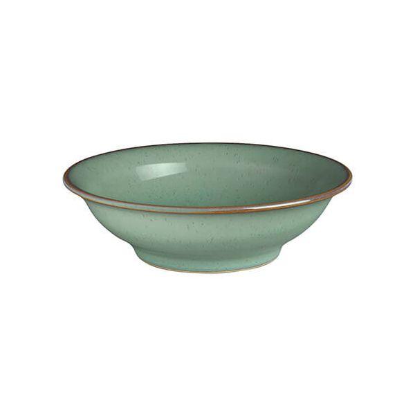 Denby Regency Green Small Shallow Bowl