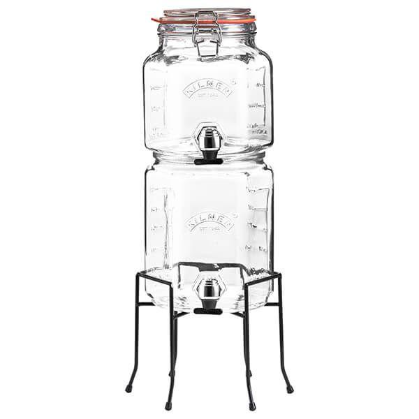 Kilner Stackable Jar Set with Taps & Stand