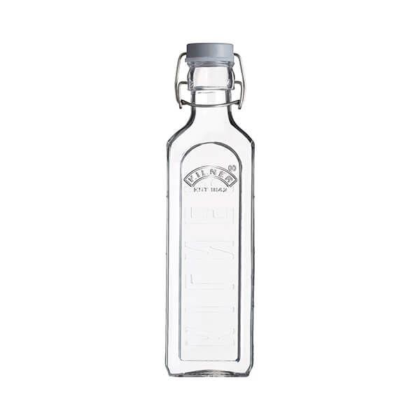 Kilner Square Clip Top Bottle 0.6L