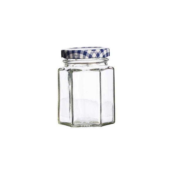 Kilner Twist Top Hexagonal Jar 110ml Box Of 12