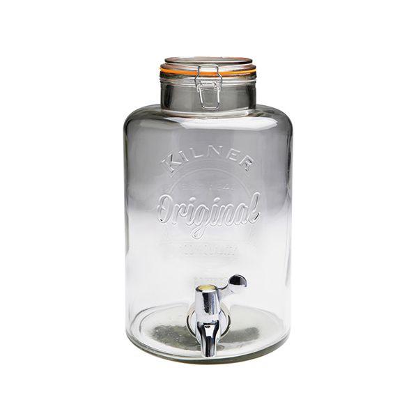 Kilner Clip Top Drinks Dispenser 8 Litre