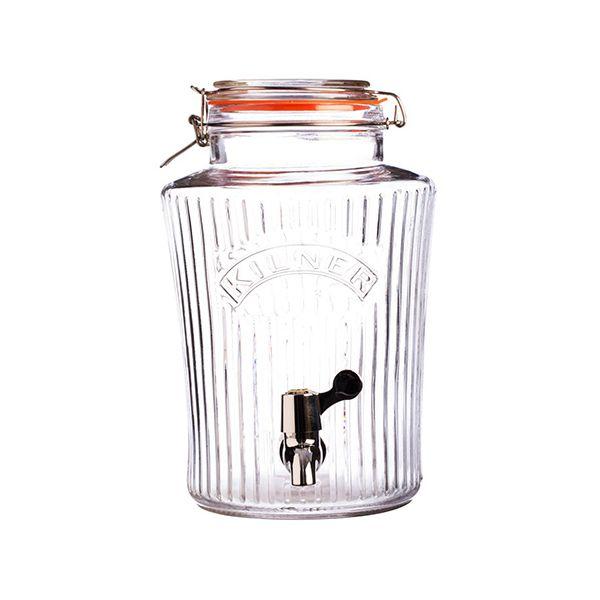 Kilner Vintage Clip Top Drinks Dispenser 5 Litre
