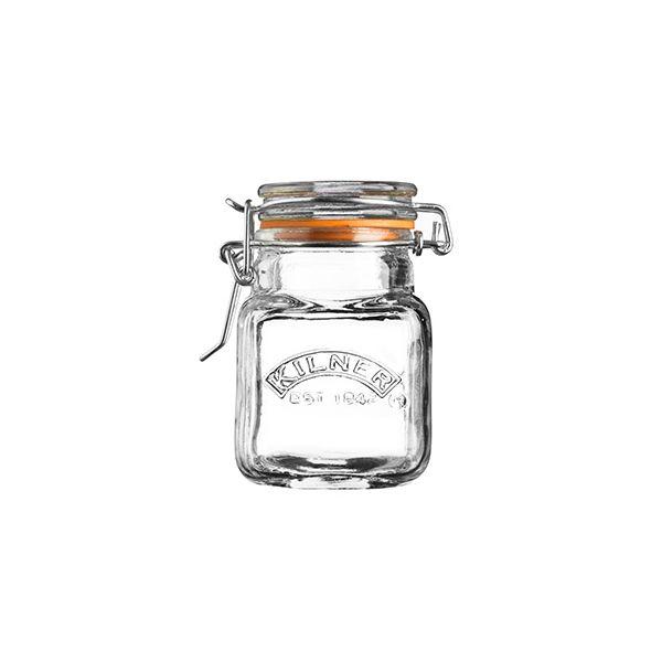 Kilner Clip Top Spice Jar Square 70ml