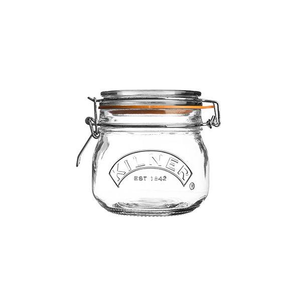 Kilner Clip Top Jar Round 0.5 Litre