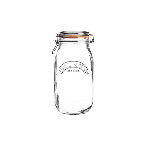 Kilner Clip Top Jar Round 2 Litre