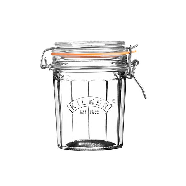 Kilner Facetted Clip Top Jar 0.45 Litre
