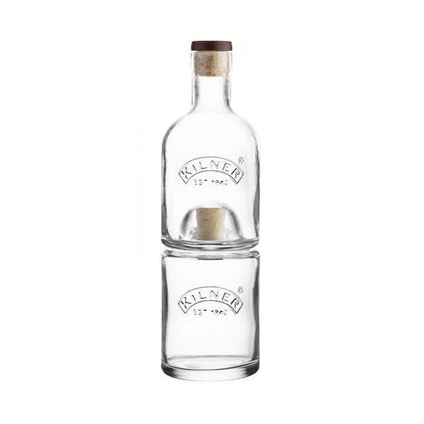 Kilner Stackable 2 Piece Bottle Set