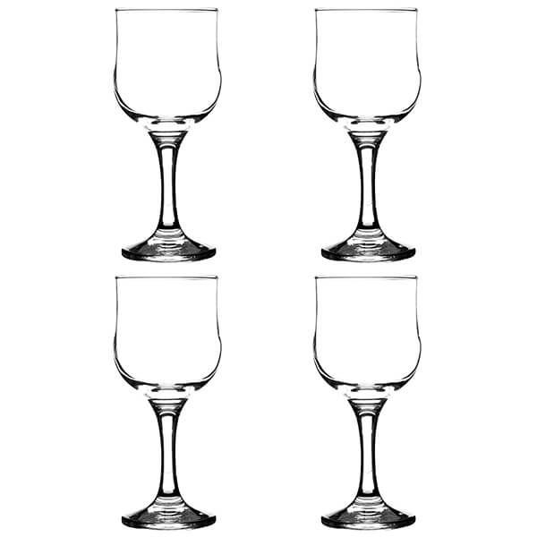 Ravenhead Tulip 240ml Set Of 4 Red Wine Glasses
