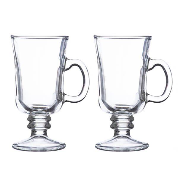 Ravenhead Entertain 230ml Set Of 2 Irish Coffee Glasses