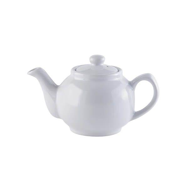 Price & Kensington White 2 Cup Teapot