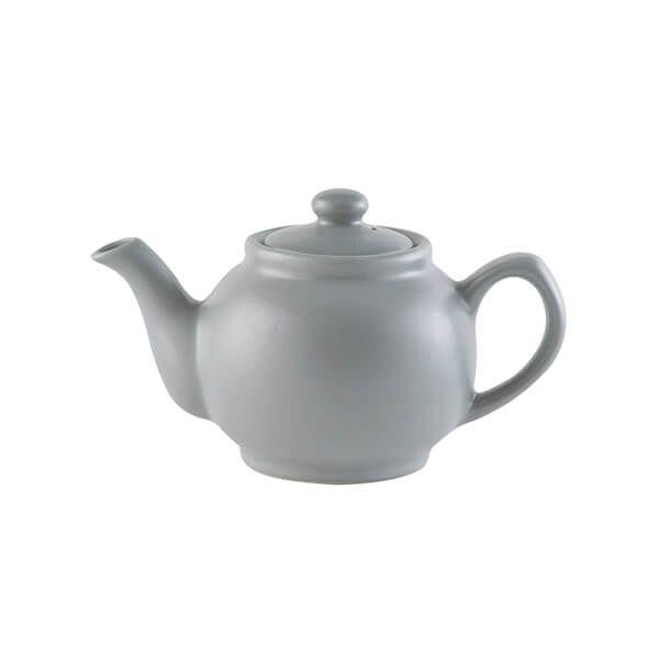 Price & Kensington Matt Grey 2 Cup Teapot