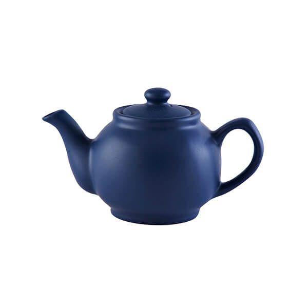 Price & Kensington Matt Navy Blue 2 Cup Teapot