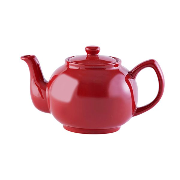 Price & Kensington Red 6 Cup Teapot