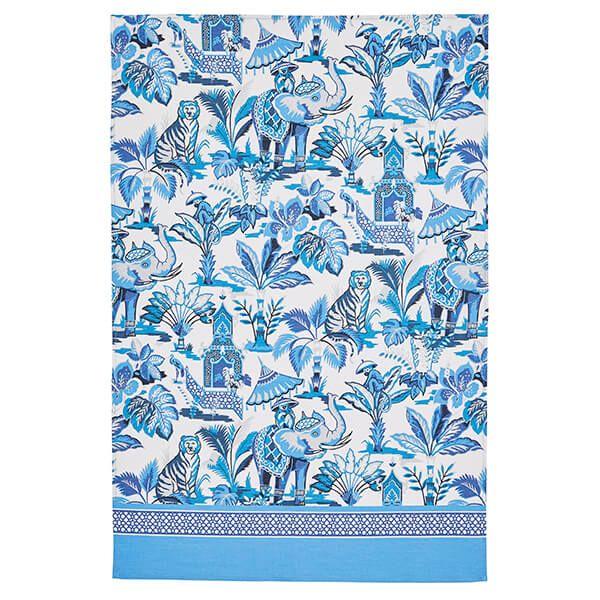 Ulster Weavers India Blue Cotton Tea Towel