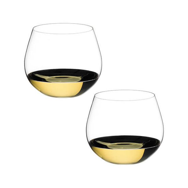 Riedel O Oaked Chardonnay Wine Glass Twin Pack