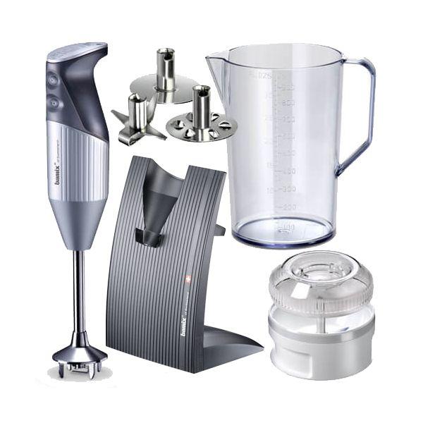 Bamix Swissline Silver 200W Hand Blender