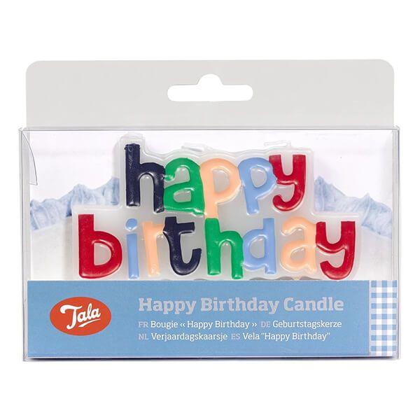 Tala Happy Birthday Candle