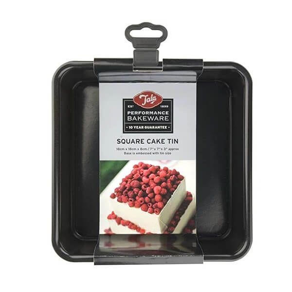 Tala Performance 18cm Square Cake Tin