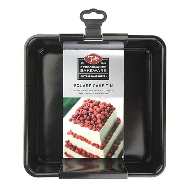 Tala Performance 20cm Square Cake Tin