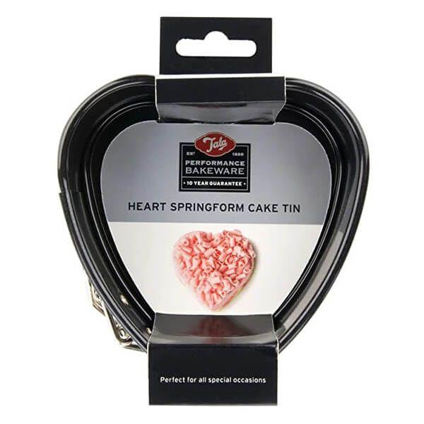 Tala Performance Heart Shape Springform Cake Tin