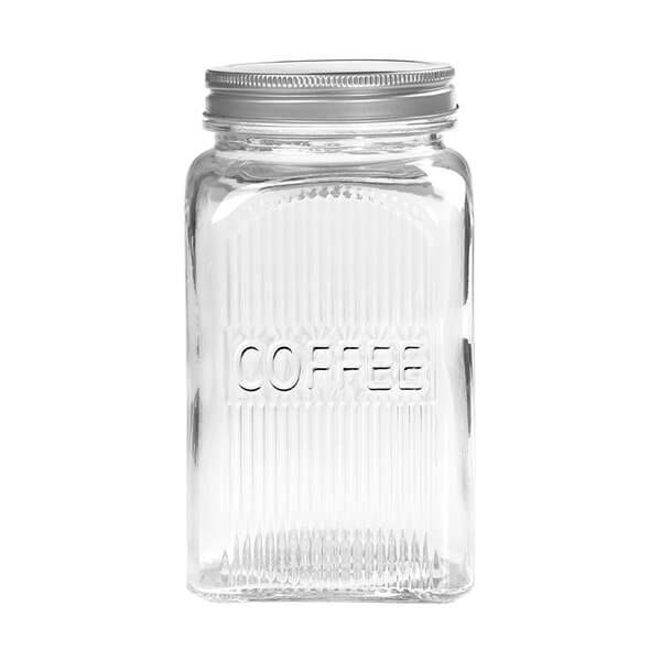 Tala Coffee Glass Jar with Screw Top Lid 1250ml