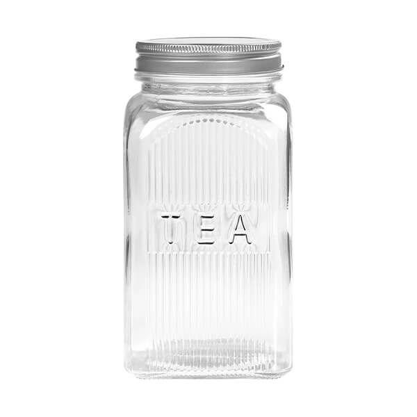 Tala Tea Glass Jar with Screw Top Lid 1250ml