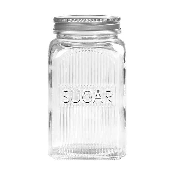 Tala Sugar Glass Jar with Screw Top Lid 1250ml