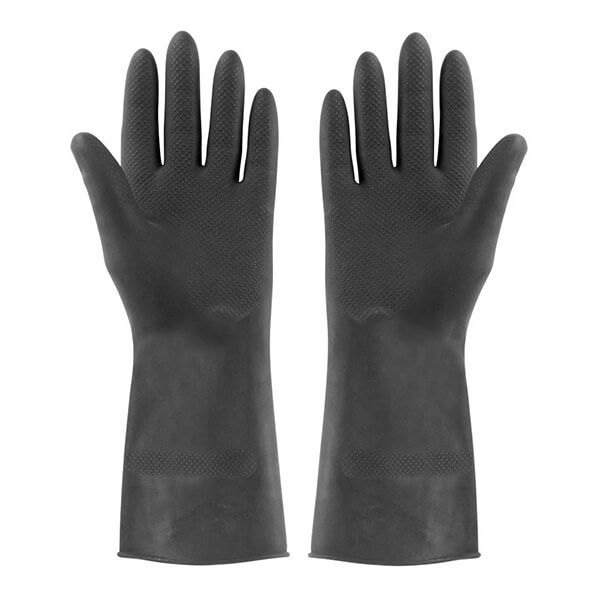 Elliotts Extra Tough Rubber Gloves Large