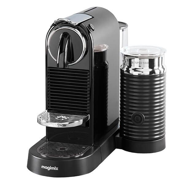 Magimix Nespresso Citiz & Milk Black Coffee Machine