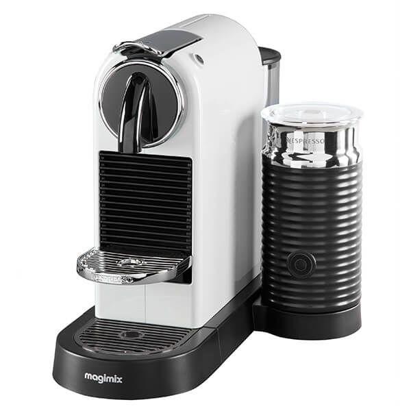 Magimix Nespresso Citiz & Milk White Coffee Machine