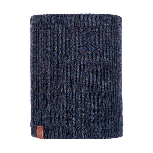 Buff Lyne Night Blue Knitted & Fleece Neckwarmer