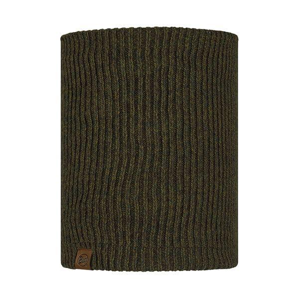 Buff Lyne Bark Knitted & Fleece Neckwarmer