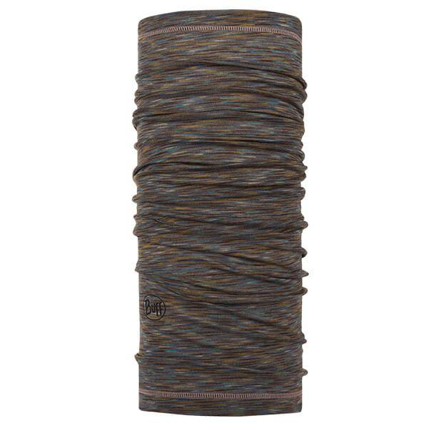 Buff Lightweight Merino Wool Fossil Multi Stripes Neckwear