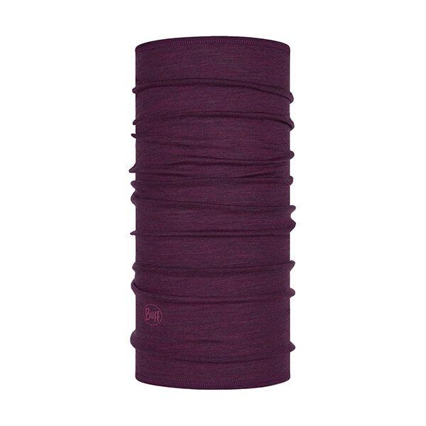 Buff Lightweight Merino Wool Purple Stripes Neckwear