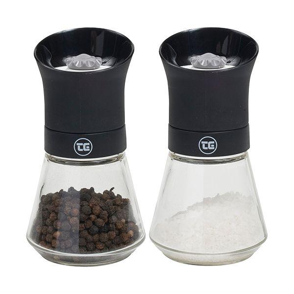 T&G CrushGrind Tip Top Pepper & Salt Mill Set