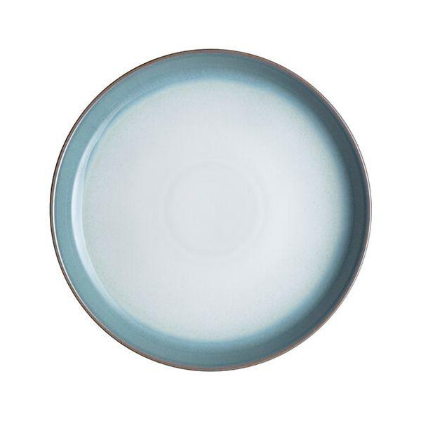 Denby Azure Haze Coupe Dinner Plate