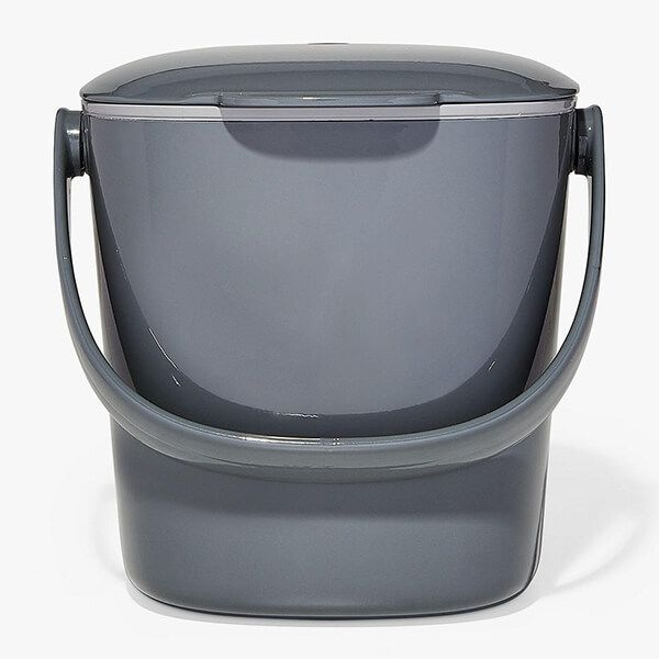 OXO Good Grips Easy-Clean Charcoal Compost Bin 2.8L