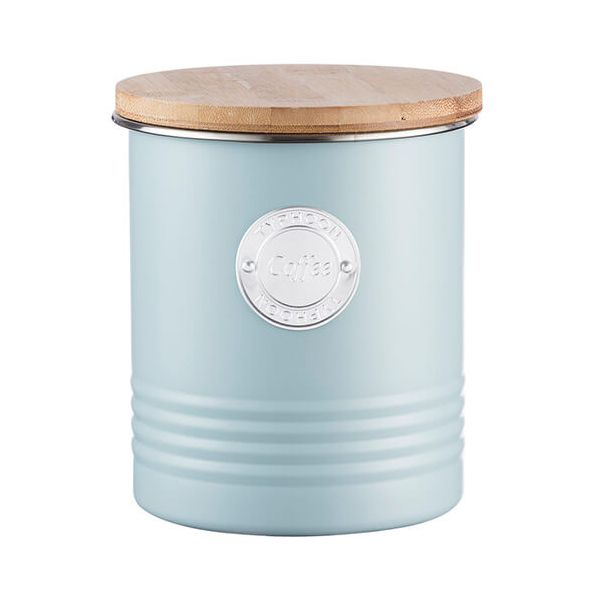 Typhoon Living 1 Litre Blue Coffee Canister