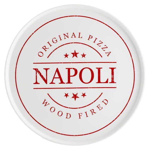 Typhoon World Foods 31cm Napoli Pizza Plate