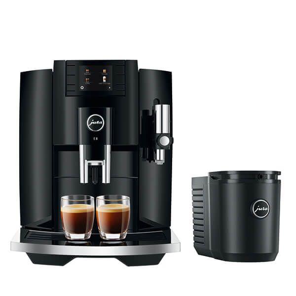 Jura E8 Black Coffee Machine with FREE Gift